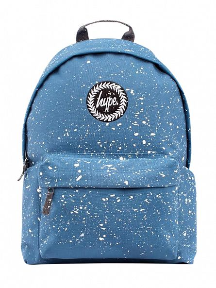 Hype Airforce Blue/White Speckle Logo Backpack