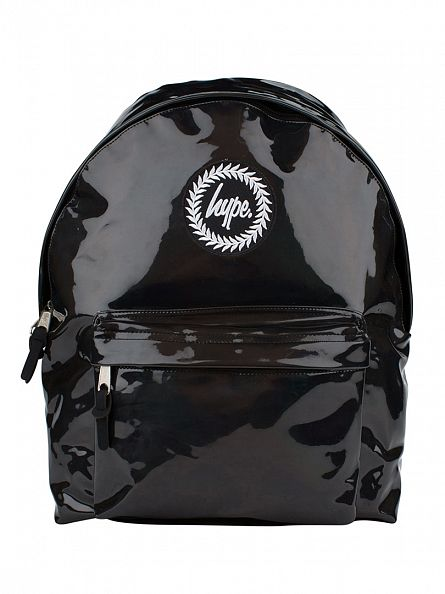 Hype Black Metallic Logo Backpack