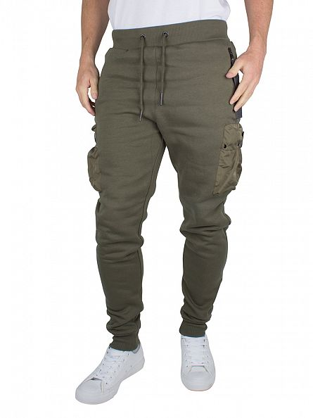 4Bidden Khaki Guard Pocket Joggers