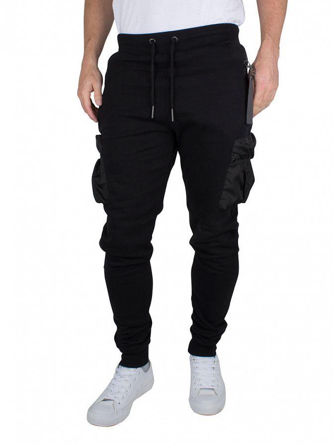 4Bidden Black Guard Pocket Joggers