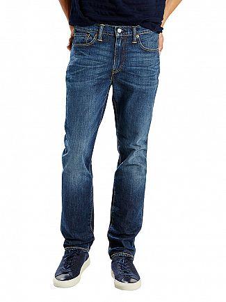 Levi's Dark Denim 511 Slim Fit Brutus Jeans