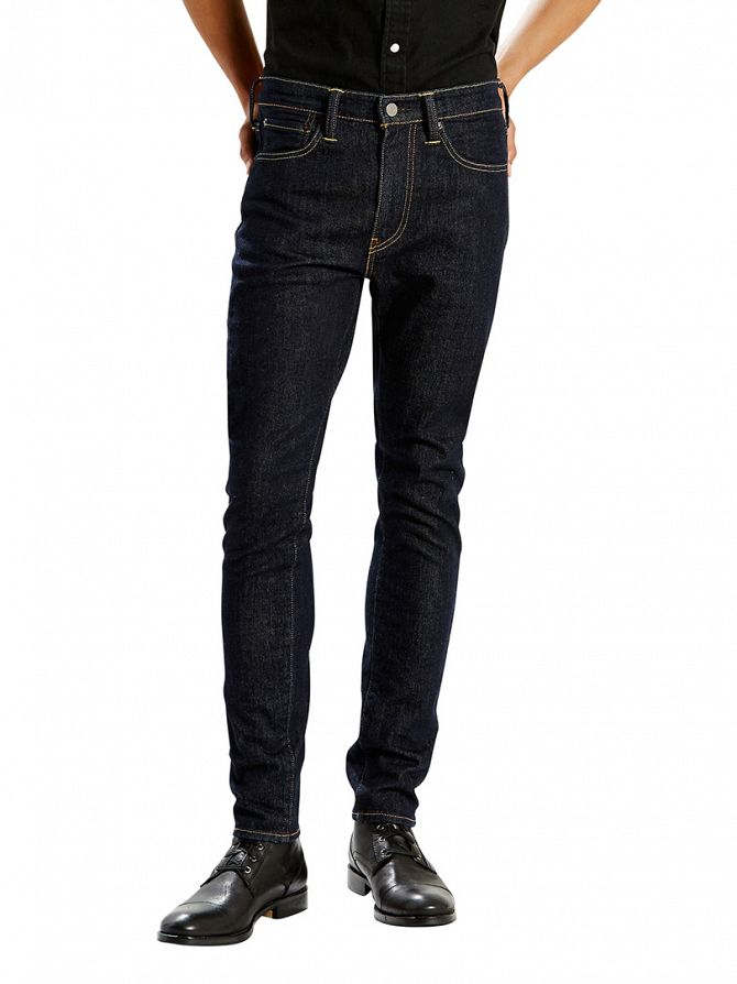 Levi's Dark Denim 519 Extreme Skinny Fit Pipe Jeans