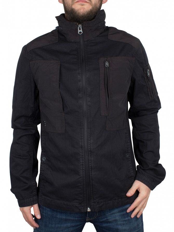 G-Star Black Powel Overshirt Jacket