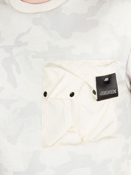 4Bidden Stone Liberty Camo Pocket Sweatshirt