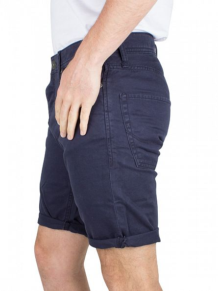 Jack & Jones Navy Blazer Rick Original Chino Shorts