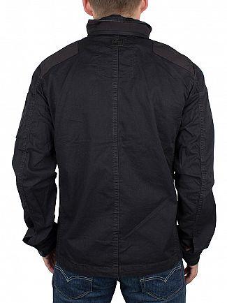 G-Star Black Powel Overshirt Jacket