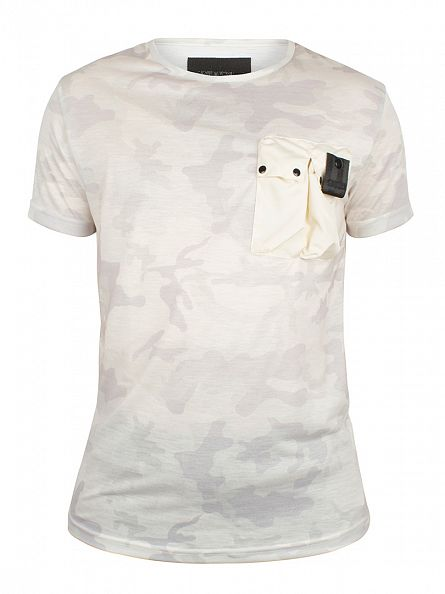 4Bidden Stone Recruit Camo Pocket T-Shirt
