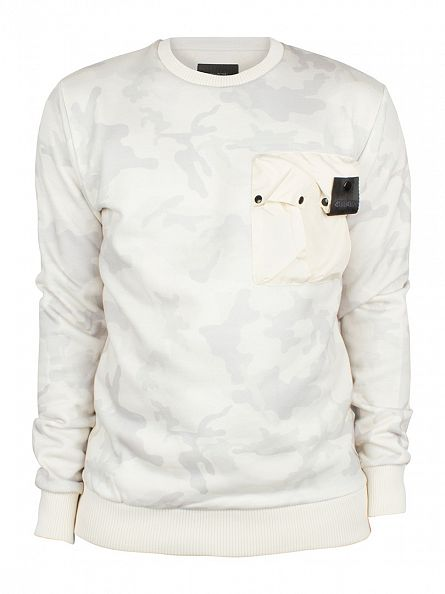 4Bidden Stone Liberty Camo Pocket Sweatshirt