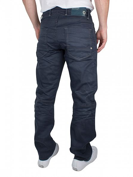 Jack & Jones Blue Denim Stan Minor 424 Anti Fit Jeans
