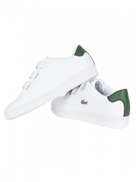 Lacoste White/Green Camden New Cup 1 SPM Trainers