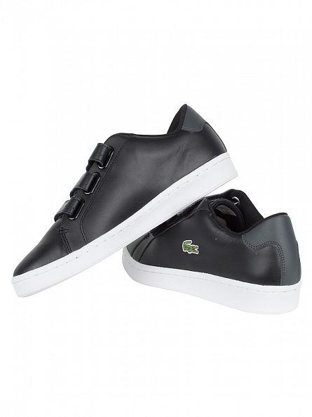 Lacoste Black/Dark Grey Camden New Cup 1 SPM Trainers