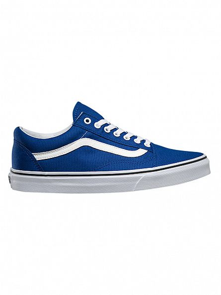 Vans True Blue Old Skool Canvas Trainers