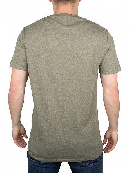G-Star Orphus Green Heather 2 Pack Marled Logo T-Shirts