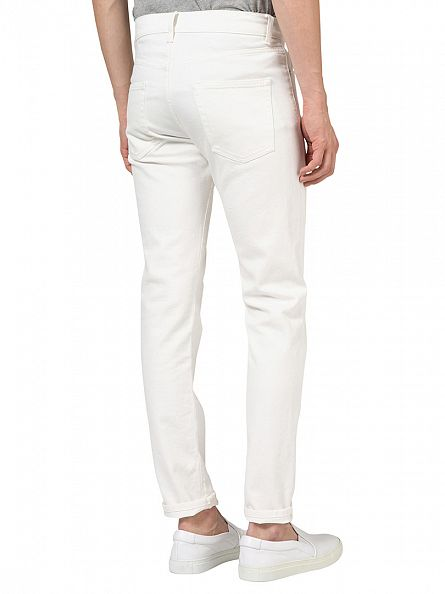 J Lindeberg White Jay Clockwork Slim Fit Jeans