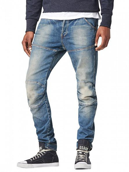 G-Star Medium Aged 5620 3D Slim Fit Jeans