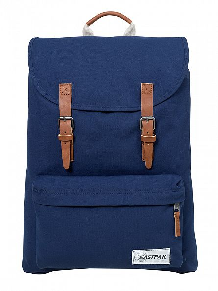 Eastpak Opgrade Navy London Logo Backpack