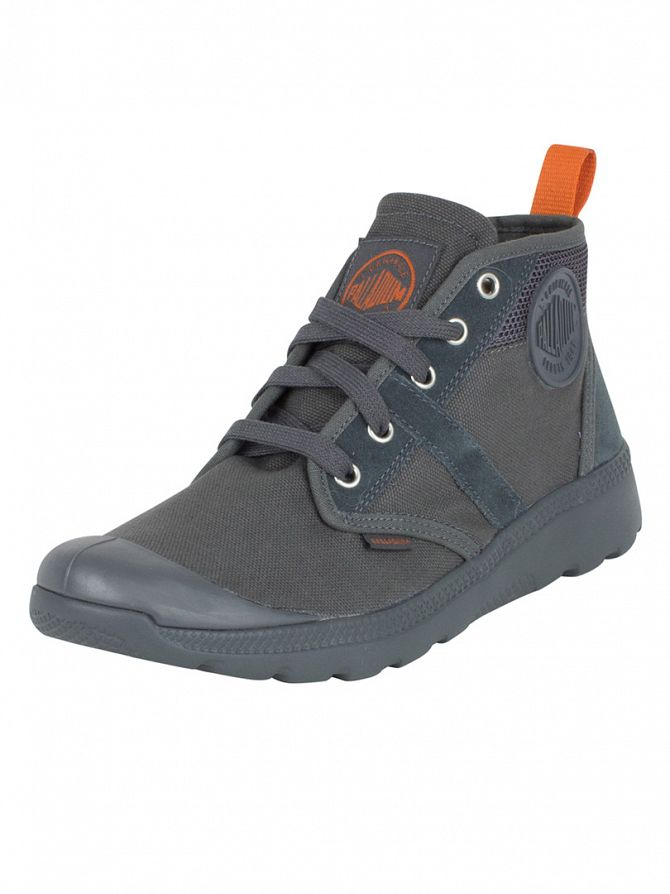 Palladium True Blue/Burnt Orange Pallaville Hi CMS Boots