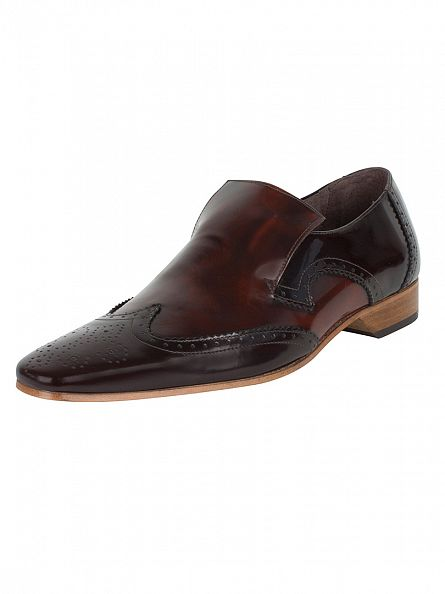 Jeffery West College Dark Brown/College Mid Brown Escoba Shoes