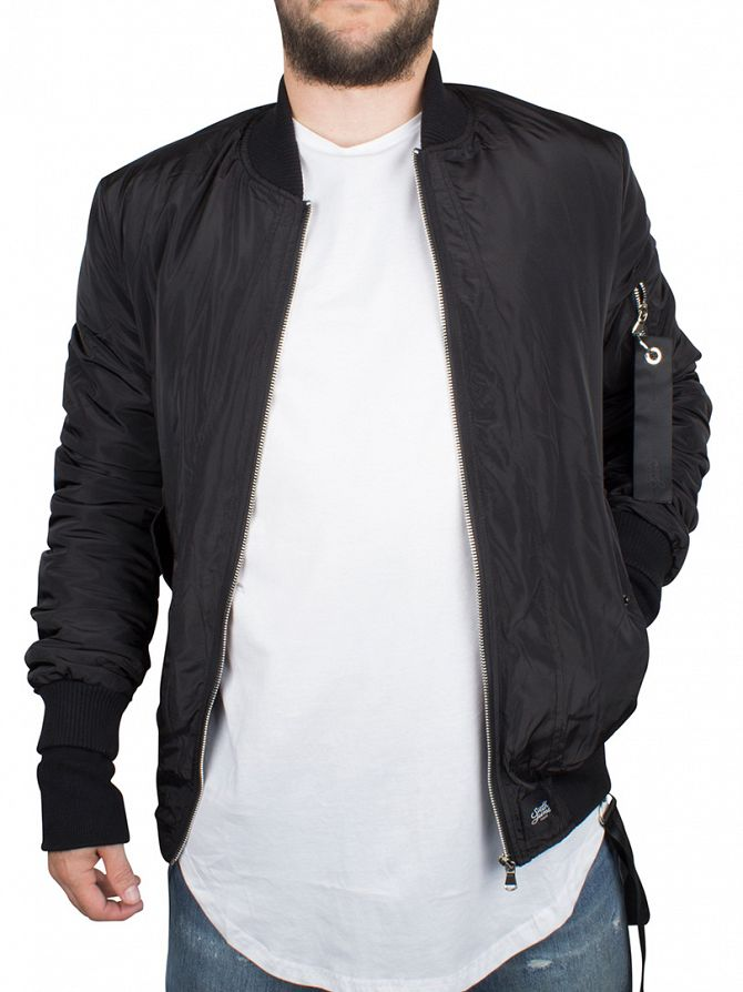 Sixth June Black Bomber Jacket