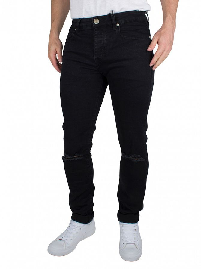 Sixth June Black Slim Fit Jeans