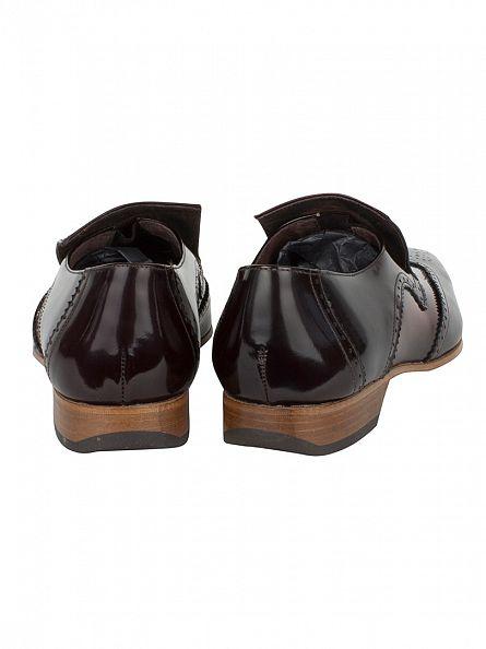 Jeffery West College Dark Brown/College Mid Brown Escoba Shoes