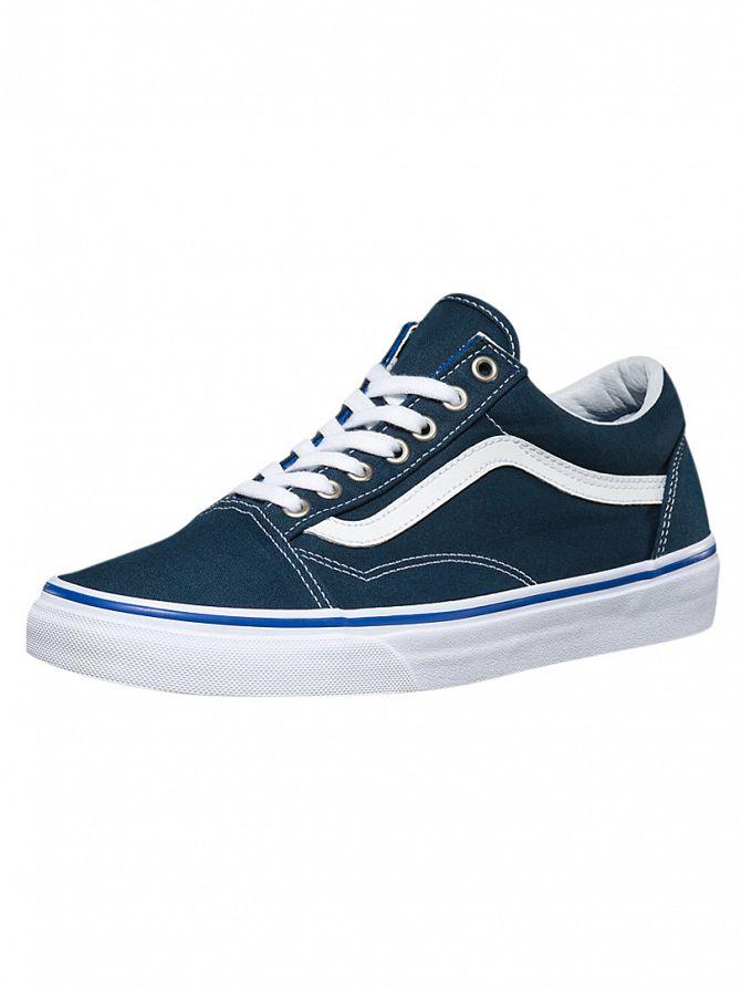 Vans Midnight Navy/True White Old Skool Trainers