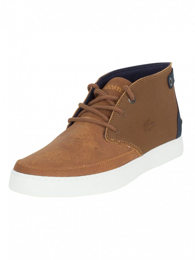 Lacoste Tan Clavel Mid 316 1 CAM Trainers