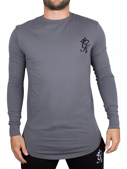 Gym King Steel Undergarment Longsleeved Logo T-Shirt