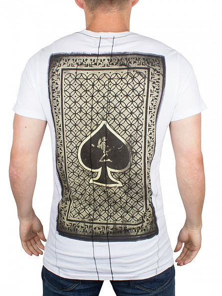 Religion White Card Graphic T-Shirt