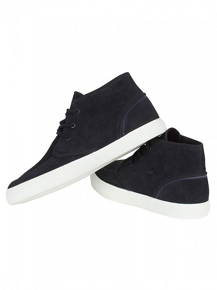 Lacoste Black Sevrin MID 316 1 CAM Trainers