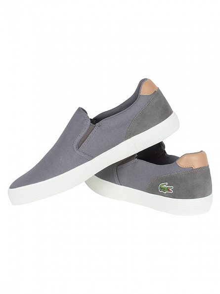 Lacoste Grey Jouer Slip-On 316 1 CAM Trainers