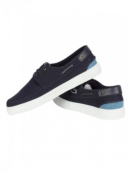 Lacoste Navy Sumac 316 1 CAM Trainers