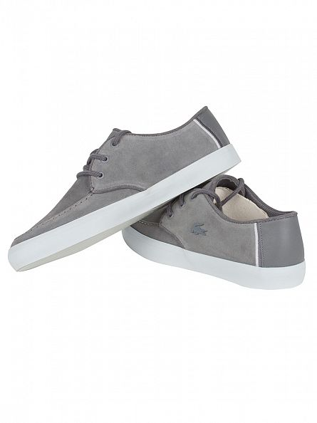 Lacoste Dark Grey Sevrin 316 1 CAM Trainers
