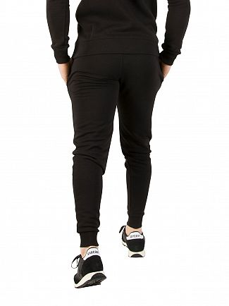 Gym King Black Core Logo Joggers