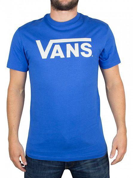 Vans Royal/Bright White Classic Logo T-Shirt