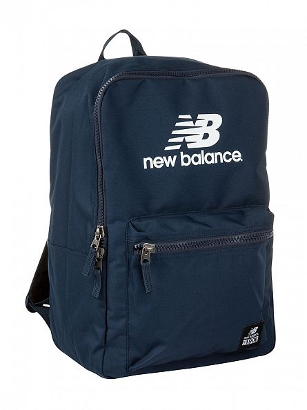New Balance Navy Lifestyle Booker Backpack