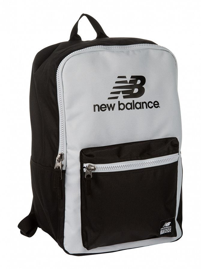 New Balance Black/Silver Lifestyle Booker Backpack