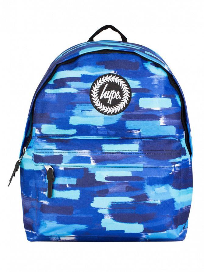 Hype Blue Multi Buff Logo Backpack