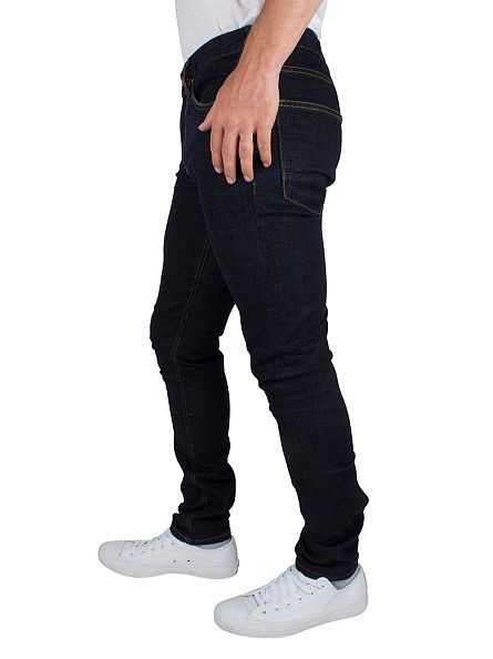 Scotch & Soda Dark Denim Skim Touchdown Stretch Skinny Fit Jeans