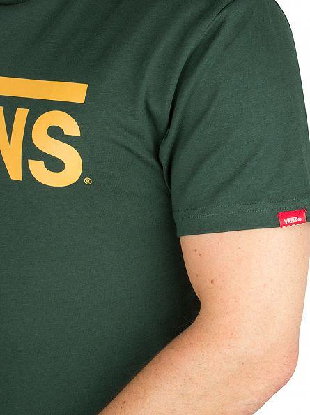 Vans Forest/Mustard Classic Logo T-Shirt