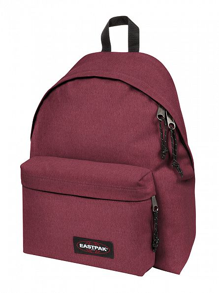 Eastpak Crafty Merlot Padded Pak R Logo Backpack