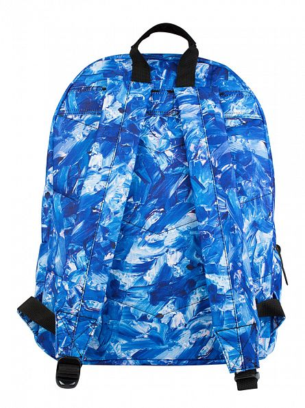 Hype Blue Multi Masterstroke Logo Backpack