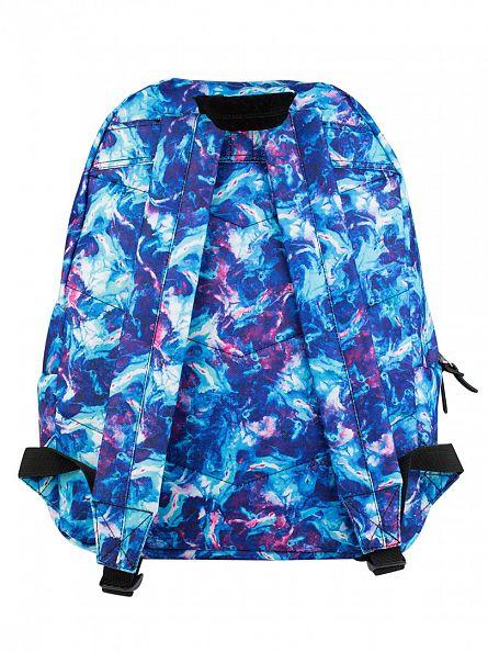 Hype Blue Multi Thunder Logo Backpack
