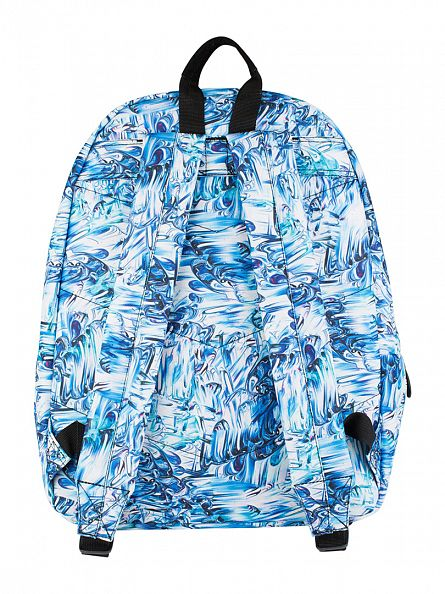 Hype Blue Multi Enamel Logo Backpack