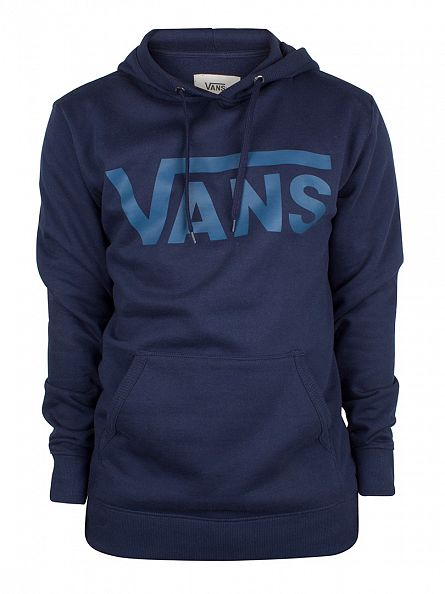 Vans Dress Blues/Blue Ashes Classic Logo Hoodie