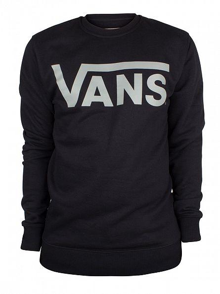 Vans Black/Forest Grey Classic Logo Sweatshirt