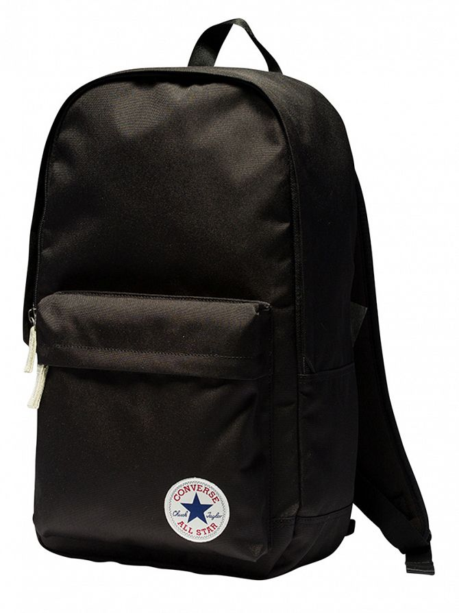Converse Black Stamp Core Logo Backpack