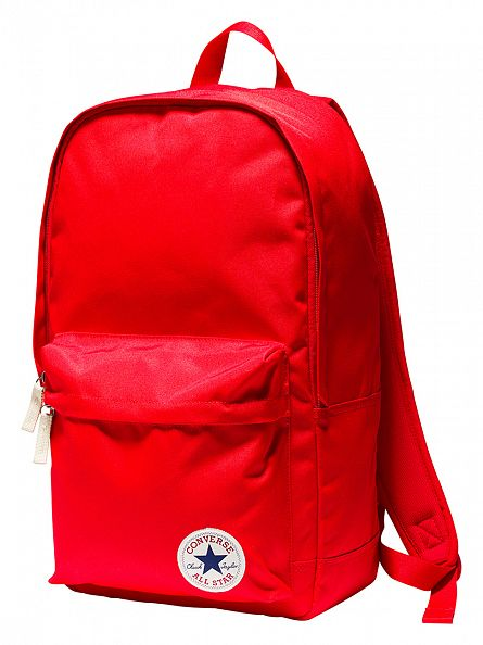 Converse Red Stamp Core Logo Backpack