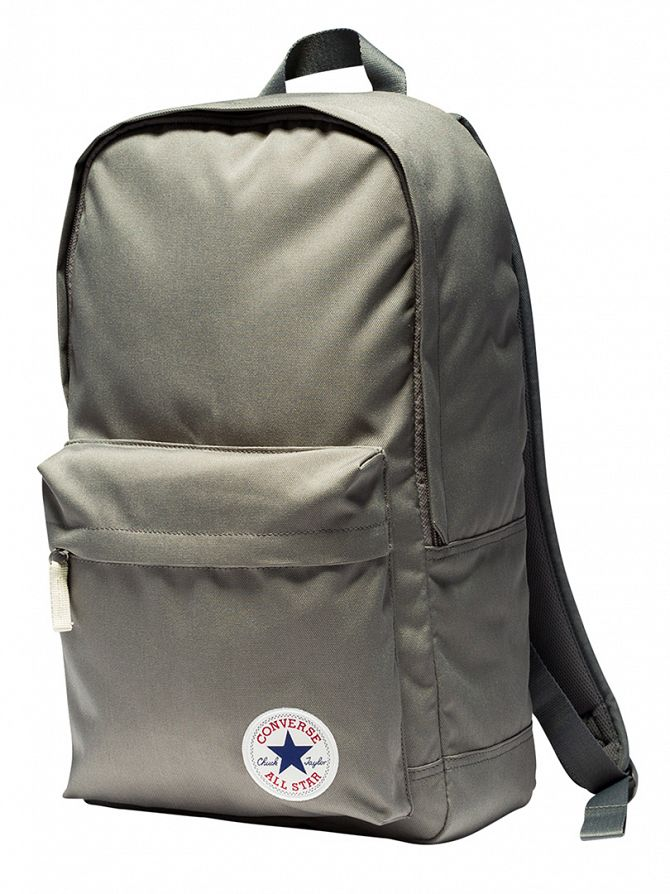 Converse Charcoal Stamp Core Logo Backpack
