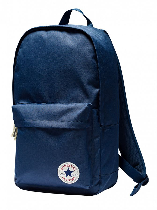 Converse Navy Stamp Core Logo Backpack